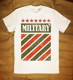Купить Футболка Military II на 23 февраля - печать на ткани, печать на футболках, печать принтов