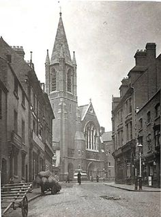 Roman Catholic Church of St. Catherine in Bristol Street, now demolished, 1901 Bristol Street, Essex Street, Birmingham Shopping, Sailing Day, Birmingham England, West Midlands, Best Cities, Old Town, Old Photos