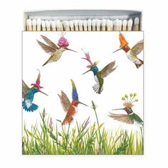 no more hiding the box of matches! From Museum Outlets. See entire Vickie Sawyer line 60 matches X Made in Europe Woody Party, Alpaca Gifts, Decorative Napkins, Vintage Seed Packets, Owl Family, Purple Garden, Party In A Box, Vintage Butterfly, Vintage Santas