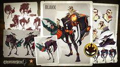 Os monstros da Creaturebox!