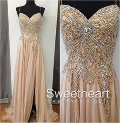 Chiffon long prom dress,formal dress,evening dress #prom #promdress #dress