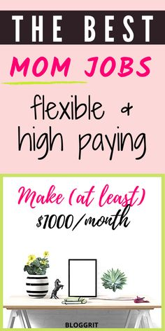 Jobs for Moms Online - High Paying and Flexible Jobs that are perfect for stay ay home moms! Being a mum of two myself, I have chosen a work from home job that allows me to work, take care of myself and my family. If you are wondering the different ways moms can make money in 2020 – either as a part-time job or to supplement your income, then this list will give you some great ideas to explore! Awesome Jobs for Moms to work from home. #jobsformoms #mom #workfromhome #workathome #bestmomjobs Work From Home Tips, Make Money From Home, How To Make Money, Extra Money Jobs, Jobs For Housewives, Typing Jobs From Home, Best Part Time Jobs, Coding Jobs, Night Jobs