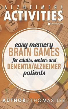 Memory Games For Seniors, Brain Memory Games, Games For Senior Citizens, Gifts For Seniors Citizens, Brain Games For Adults, Crossword Puzzle Books, Alzheimers Activities, Brain Training Games, Adult Games