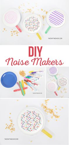 Noise Makers DIY Noise Makers are a great way to ring in the New Year. This quick and easy kids' craft is fun DIY Noise Makers DIY Noise Makers are a great way to ring in the New Year. This quick and easy kids' craft is fun Arts And Crafts For Teens, Art And Craft Videos, Crafts For Girls, Easy Crafts For Kids, Toddler Crafts, Diy For Kids, Bible Crafts For Kids, Fun Craft, Craft Party