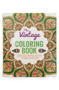'Vintage' Coloring Book