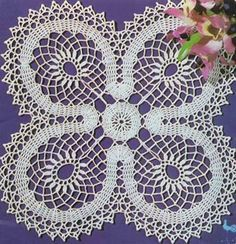 Doily Lucky – Crochet Pattern
