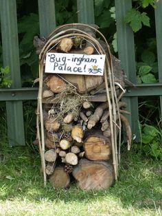 Gallery : OUR BUG HOTELS More