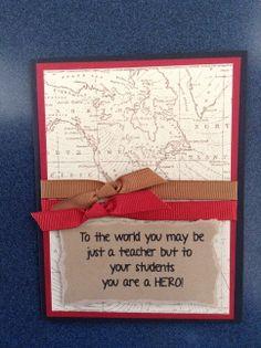 Teacher Card Teacher Christmas Gifts, Teacher Gifts, Teacher Appreciation Cards, Diy Pencil Case, Card Ideas, Gift Ideas, Teachers' Day, Coach Gifts, Coaches