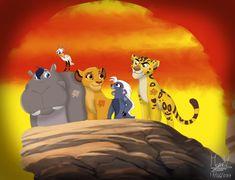 The Lion Guard Gender Bender by Lion King 1, Lion King Fan Art, Lion King Movie, Disney Lion King, Dragon Prince Season 3, Panther Leopard, Bareback Riding, Lion King Drawings, Lion King Pictures