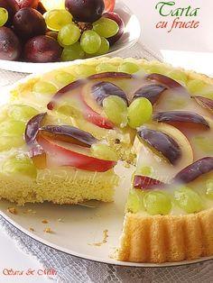 Tarta cu fructe ~ Culorile din farfurie