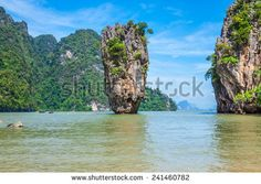 Thailand Phuket. James Bond island