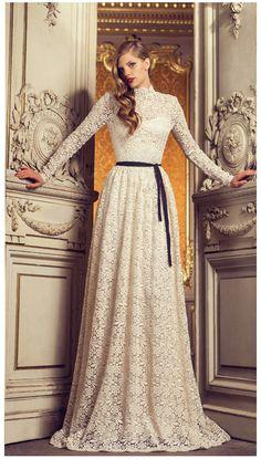 long lace dress!