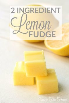 Only 2 ingredients brings a sweet tangy flavor combination that melts in your mouth This is a musttry for all lemon lovers 2 Ingredient Lemon Fudge Lemon Recipes, Fudge Recipes, Candy Recipes, Sweet Recipes, Cookie Recipes, Dessert Recipes, Lemon Fudge Recipe, Irish Fudge Recipe, Bolo Fack