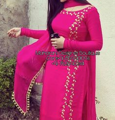 5 Dress Styles That Will Make You Look Thinner – Shopping Fashion Patiala Suit Designs, Salwar Neck Designs, Neck Designs For Suits, Kurta Designs Women, Kurti Designs Party Wear, Blouse Designs, Punjabi Suit Neck Designs, Sleeve Designs, Punjabi Suit Boutique