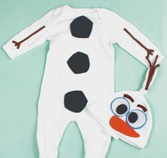 Olaf Costume Baby & Infant Snowman Costume by T00Cute4Words