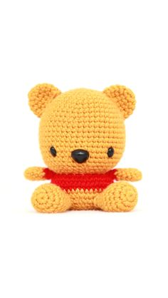 Knitted pooh