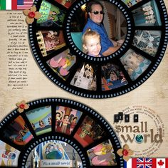 It's a Small World/Love the layout