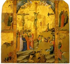 Storie della Passione di Cristo, Workshop of Duccio di Buoninsegna about 1311-1324, gold and tempera on panel,