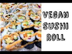 Easy Vegan Sushi Roll