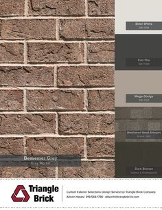 Sherwin-Williams' Color of the Month Rave Red SW 6608 Brown Brick Exterior, Brown Brick Houses, Brick Ranch Houses, Red Brick Exteriors, House Exterior Color Schemes, Exterior Paint Colors For House, Paint Colors For Home, Exterior Colors, Painted Brick Ranch