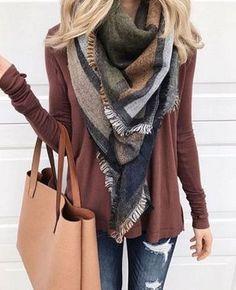 Tendencias para otoño. Ideas de outfits para el fin de semana.