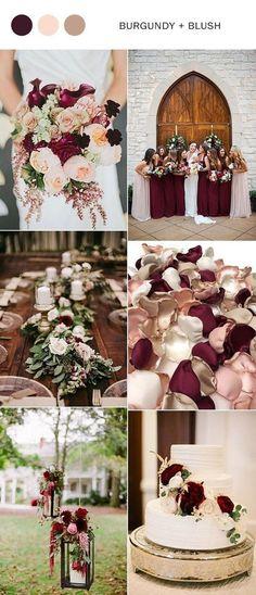 Unique Color Combinations Ideas For Winter Weddings 41