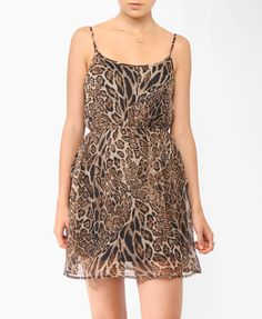 Mixed Animal Print Dress | FOREVER21 - 2011384921