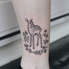 e2c54c07891f7 43 Best Faun (baby deer) tattoo images in 2019 | Fawn tattoo, Baby ...