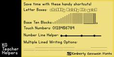 KG Teacher Helpers - Webfont & Desktop font « MyFonts