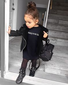 baby girl fashion * baby girl names _ baby girl nursery _ baby girl _ baby girl clothes _ baby girl fashion _ baby girl nursery room ideas _ baby girl hairstyles _ baby girl dresses Cute Kids Fashion, Little Girl Fashion, Toddler Fashion, Mommy Fashion, Teen Fashion, Retro Fashion, Cute Little Girls Outfits, Toddler Girl Outfits, Little Girl Swag
