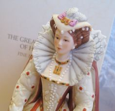 Lenox Jane Great Fashions of History Queen Anne Period IOB Very good. Lenox Collectibles