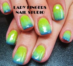 #nail #nails #nailart #trendynails #nailideas #naildesign #fadednails #green #blue #easternails #nailporn #manicure #nailporn #gelmanicure #gelnails #art #nailpolish #easter #glitter