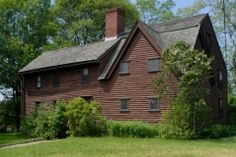Balch House (late 17th century), Beverly, Massachusetts. Home built by one of the old planters who had come to Salem from Gloucester Eng. in 1626, but were forced to move to Beverly after John Endicott arrived at Salem in 1628.
