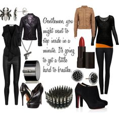 """Natasha Romanoff/Black Widow"" by favourite-fictional-fashions on Polyvore"