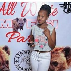 RATCHET PHOTOS in first ever TEAM MAFISI All White Party