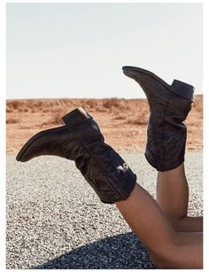 Black Cowgirl Boots, Black Boots, Western Boots, Festival Shop, Pointed Toe Heels, Le Far West, Online Fashion Boutique, Princess Polly, Lookbook