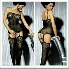 IT'S HERE!!!! Super SEXY fish net body stocking One size fits most..full description on 3rd picture. Trust me your lover will be in for a treat:) Intimates & Sleepwear