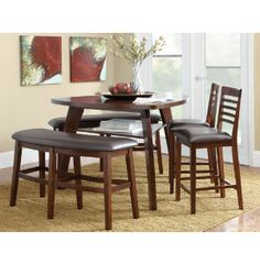 Charming Stanton Dining Collection Is Our New Kitchen Table! Except We Have Four  Chairs And One Bench. Canu0027t Wait For It!