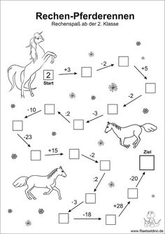 Numbers puzzle with horses - math arithmetic problems class - Holly's Education Archive Math Activities For Kids, Math For Kids, Math Games, Kids Learning, Maths Puzzles, Math Worksheets, Number Puzzles, Math Numbers, First Grade Math