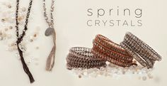 Shop our collection of Spring Crystals here http://www.chanluu.com/new-arrivals/spring-crystals