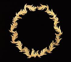 mytippetonlytulle:  Metal necklace by Elsa Schiaparelli, 1938.