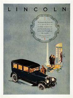 Lincoln Ad (1924)