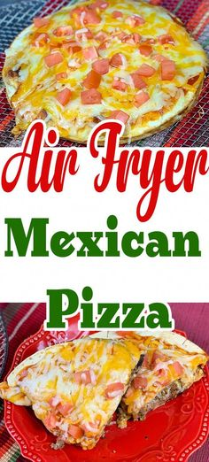 This Mexican pizza recipe is a great recipe to make in an air fryer or traditionally. My recipe was inspired by the taco bell Mexican pizza. # Taco Bell Mexican Pizza With Air Fryer Recipe ⋆ by Pink Air Fryer Oven Recipes, Air Frier Recipes, Air Fryer Dinner Recipes, Air Fryer Recipes Mexican, Easy Mexican Food Recipes, Air Fryer Recipes Potatoes, Mexican Desserts, Chinese Recipes, Healthy Recipes