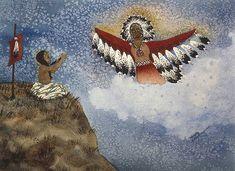 Lynda Hoffman-Snodgrass - Vision of the Eagle Spirit kp