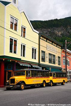 Downtown Skagway Alaska. Skagway Mining Co., fun place to shop!