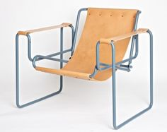 reminds me of a bedside toilet frame but in a fabulous so sheep skin rocking chair way.