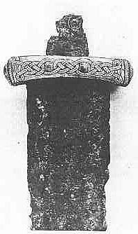 Morzewo sword 10th C (Slavic - from the Polish archaeological site)