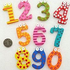 Kathson 1 Sets Kids Toys Colorful Wooden Refrigerator Magnet Alphabet A-Z Letters Cartoon Stickers, Kids Stickers, Educational Toys For Kids, Learning Toys, Magnet Drawing, Letters For Kids, Wooden Alphabet, Wooden Baby Toys, Developmental Toys