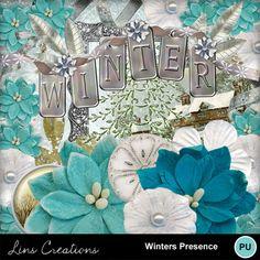 Digital Scrapbooking Kits | Winters Presence-(LinsCre) | Family, Holidays - Christmas, Memories, Seasons - Winter | MyMemories