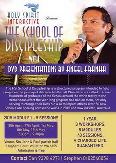 The HSI Schools of Discipleship - Sts. John and Paul Parish in Willetton, Perth - 2015